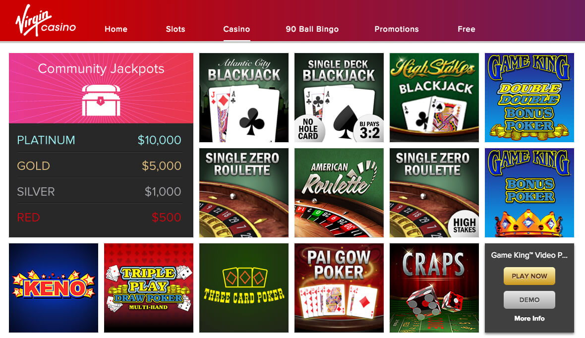 list of no deposit free play casinos