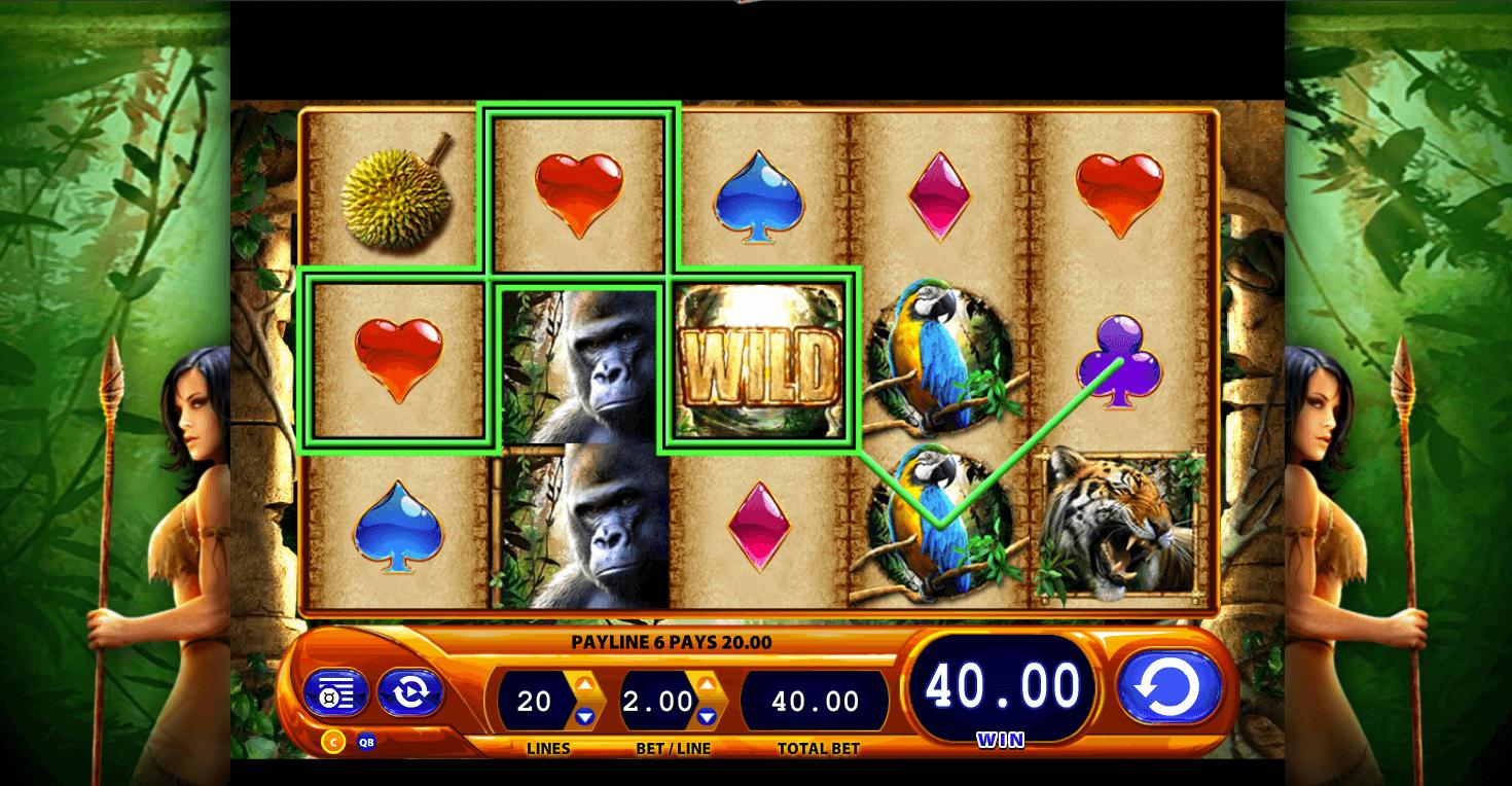 Queen Of The Wild Slot