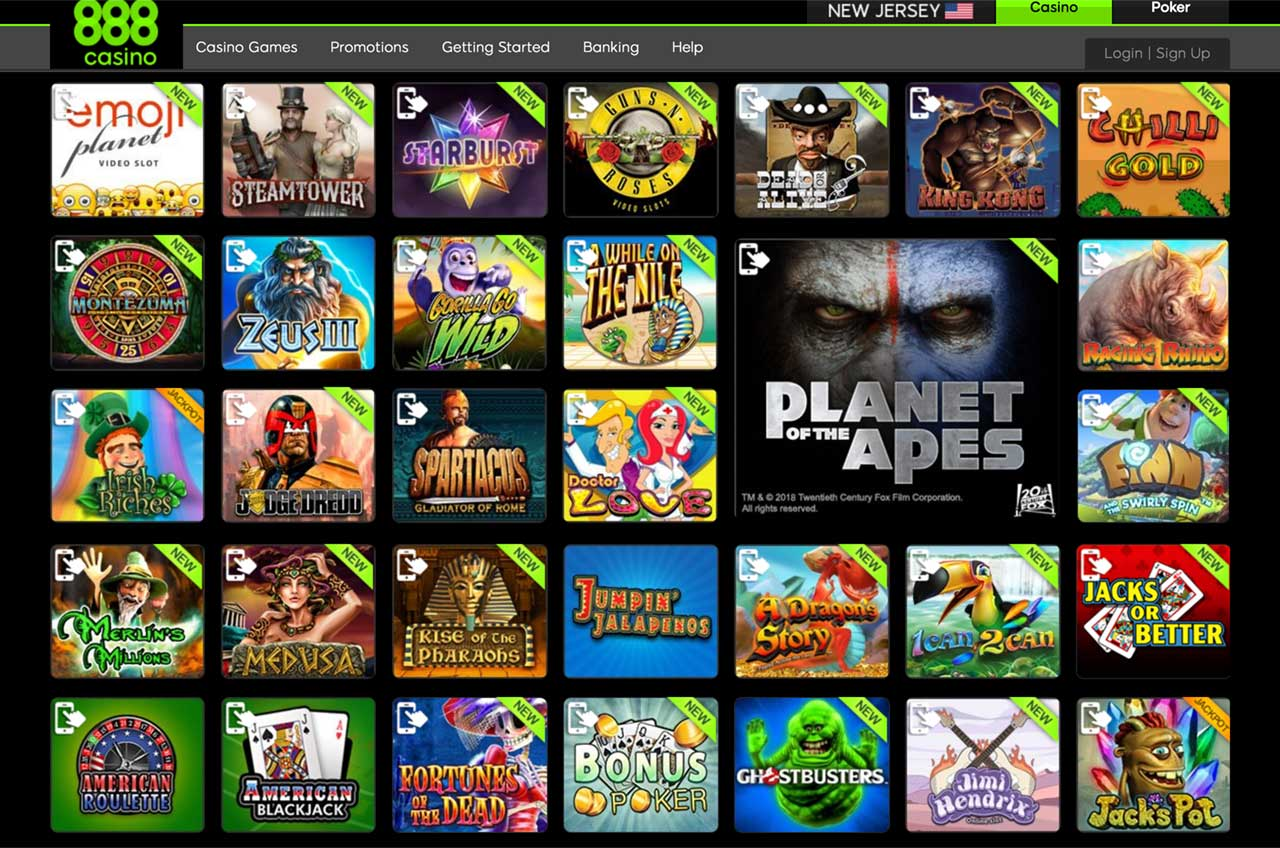 888 Casino Games Download