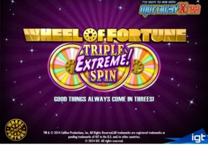 Wheel Of Fortune Triple Extreme Slots
