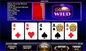 deuces wild game king golden nugget nj